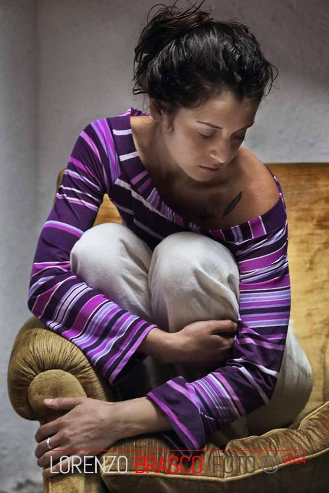 Ritratto femminile indoor di Lorenzo brasco